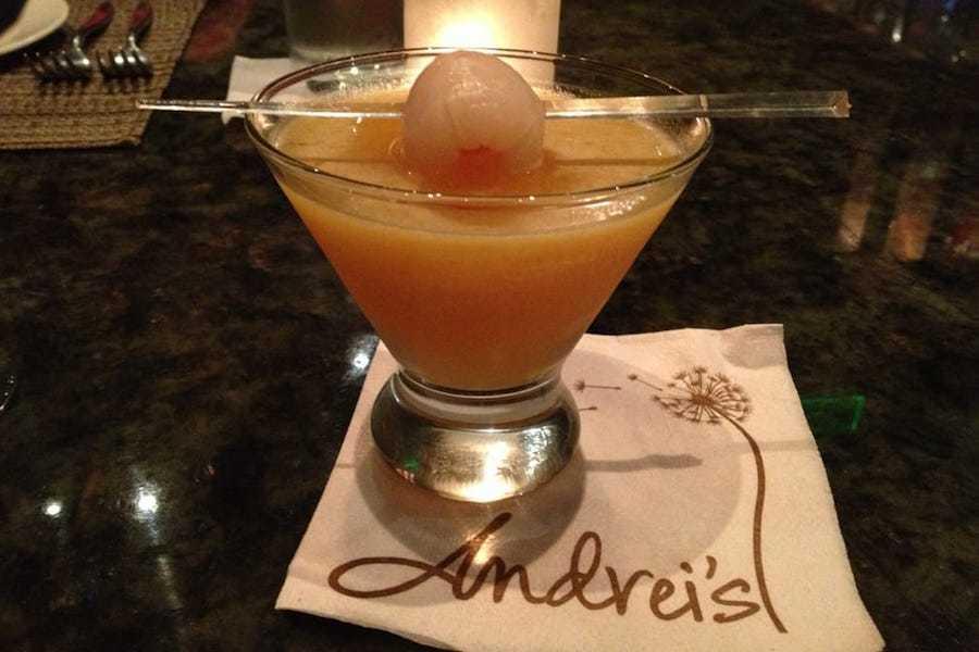 Cocktail On Napkin