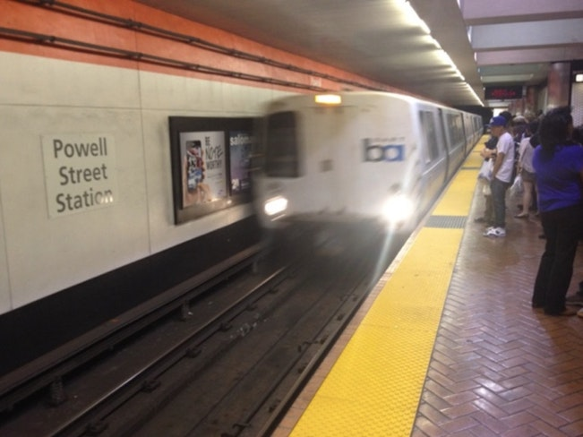 Powell st station flickr