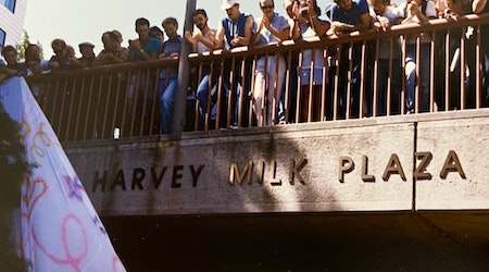 A history of Castro Station and Harvey Milk Plaza, turning 40 this year