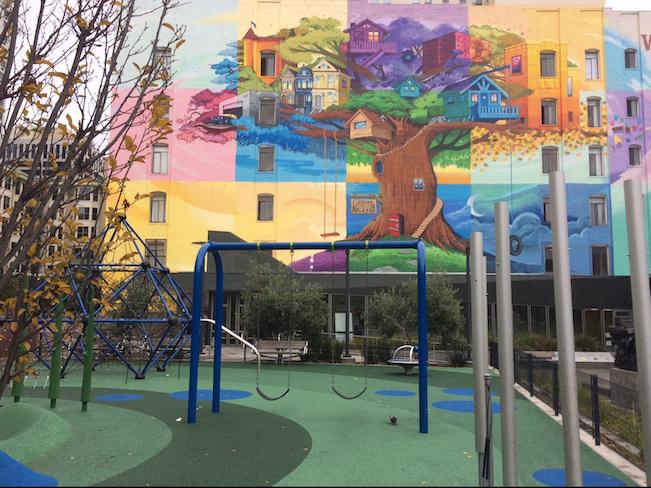 Boeddeker park mural
