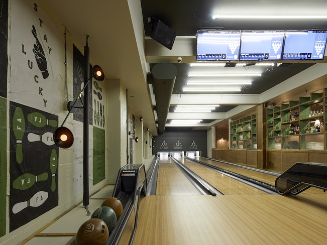 Fifth arrow bowling alley