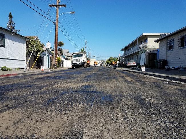 Oakland summer paving