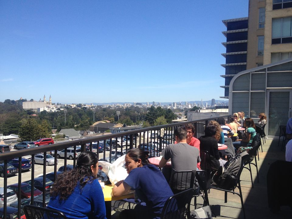 UCSF's Food Court Offers Sweeping Views, Convenience And Guilty