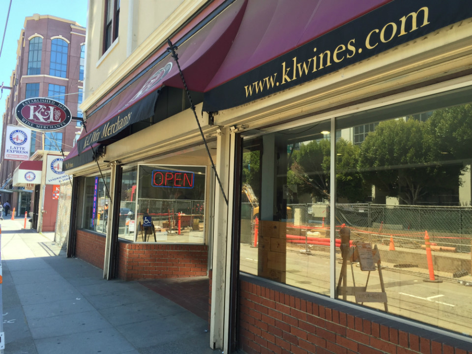K&L Wine Merchants Moving To An Expanded Space In SoMa's